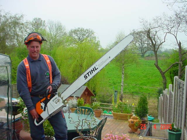 Specialist Equipment Supplied & Serviced By Andreas Stihl